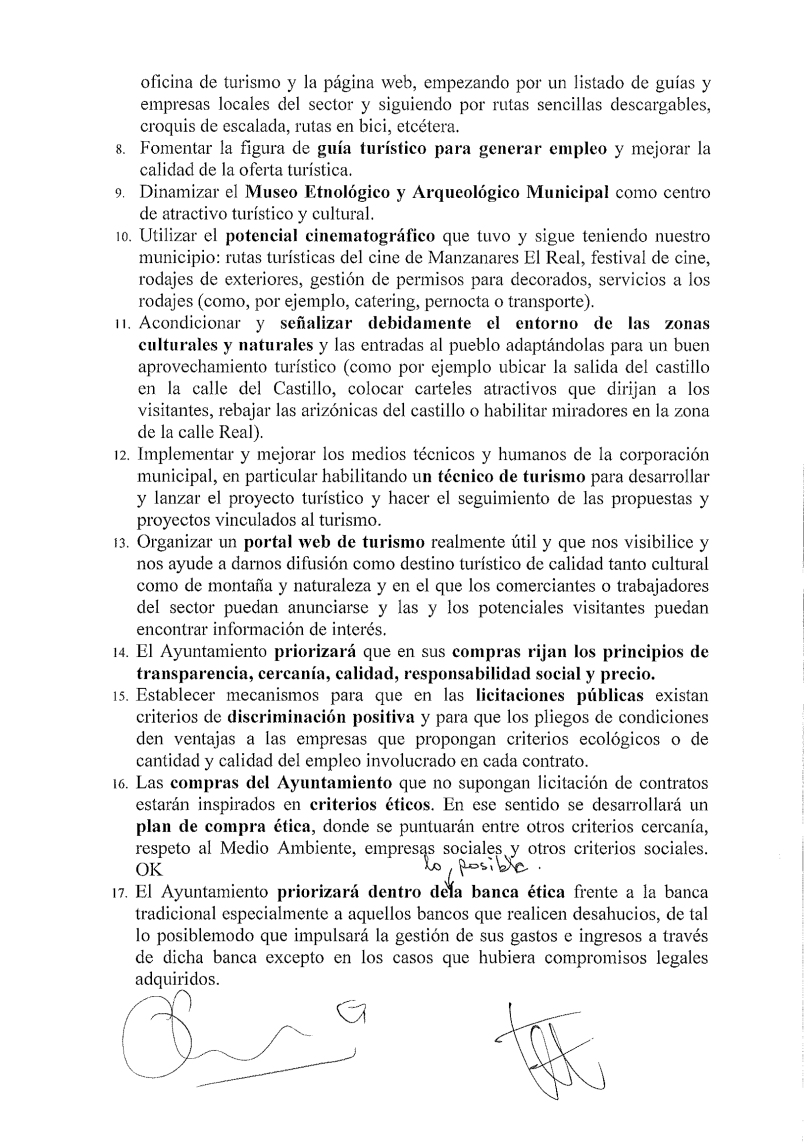 Acuerdo programático 3