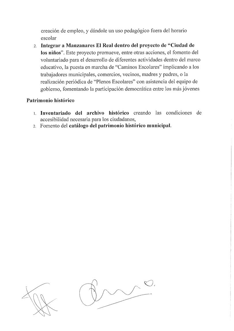 Acuerdo programático 7